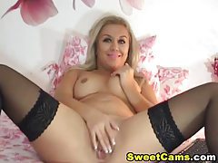 Hot Blonde Striptease Masturbation HD tubes