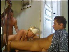 Slut in latex stockings hardcore DP tubes
