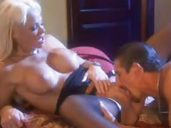 Blonde perfection fucked in glamorous scene tubes