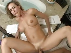 Brandi Love in the bathroom POV sex tubes