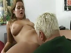Naughty cocksucker gives a hot titjob tubes