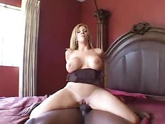 Saucy blonde milf in lingerie fucks black cock tubes
