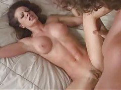 Super flexible fit chick fucked in her cunt tubes