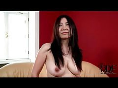 Timid amateur Asian milf strips for us tubes