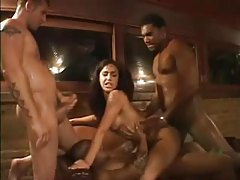 Big cocks gangbang Brazilian slut Monica Mattos tubes