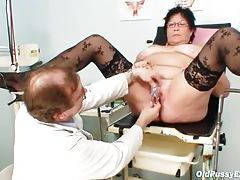 Breast exam with fat mature is sexy tubes