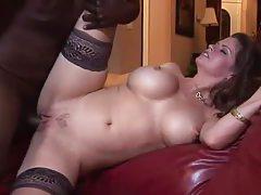 Big titty milf hardcore pornstar with a black cock tubes