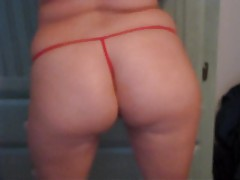 Naughty minx with killer butt shakes it tubes