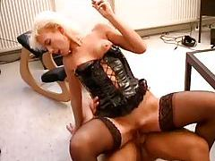 Leather corset hot on this fuck slut tubes