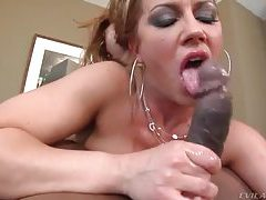 Wet sexy blowjob for a big black cock tubes