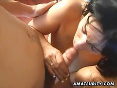 Amateur anal threesome with facial cumshot tubes