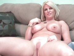 Curvy blonde gets naked and chats with you tubes