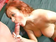 Big cock in ass of sexy redhead tubes