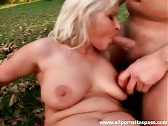 Mature blonde fuck slut laid outdoors tubes