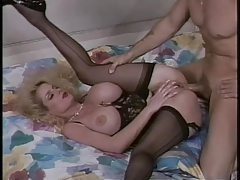 Lovely lingerie on this retro fake tits milf tubes