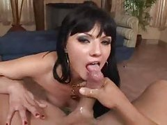 Naked slut is glamorous with cock in her cunt tubes