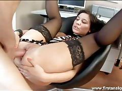 Madow in kinky stockings gets her hardcore ass sex tubes