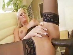 Corset and stockings on interracial fuck slut tubes