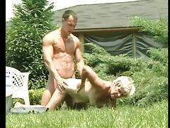 Old lady fucked hardcore outdoors tubes