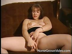 Lustful redhead fingers her pussy then uses toys tubes