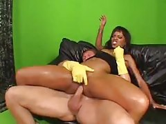 Tight oiled up body on fucked black slut tubes