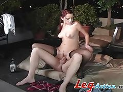 Fiery redhead with small tits getting ravaged raw tubes