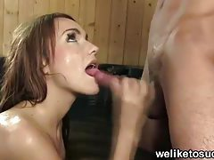 Hot tub blowjob babe tubes