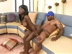 Fit and sexy black girl laid by her black lover tubes