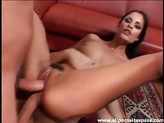 Leggy Latina milf getting all her holes slammed tubes
