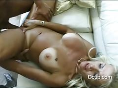 Fantastic fake titty milf laid in her tight cunt tubes