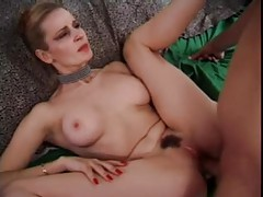 Naughty slut in heels boned in the ass tubes