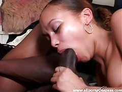 Big black dick for a horny ebony beauty tubes