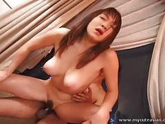 Naughty ass rides cock like a maniac tubes