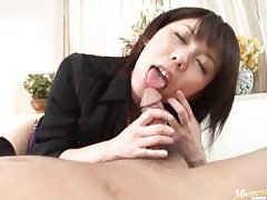 Ass rimming Japanese girl is cute tubes