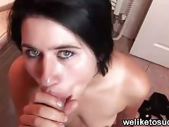 Taught how to give a blowjob tubes
