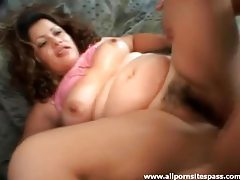 Pregnant girl boned in her lusty cunt tubes