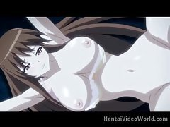 Giant tits hentai girl fucked in the woods tubes