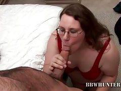 Happy fatty shows cocksucking skills tubes