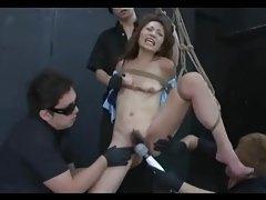 Asian Teen Shibari Strung And Made to Orgasm tubes