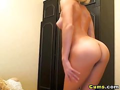Blonde Teen Fingering her Tight Pussy tubes