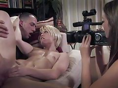 Good sweaty screw scene with Ash Hollywood tubes