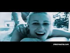 Sensual sex scene includes underwater fucking tubes