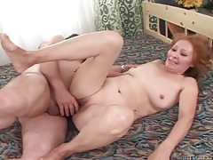 Old man fucks a sexy old lady tubes