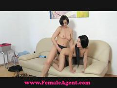 FemaleAgent Gymnast flexible fuck tubes