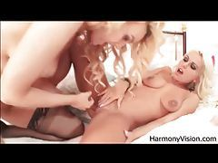 Bleach blonde bimbo babes fool around tubes