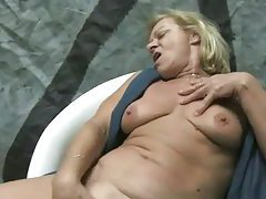 Dude dominated by a couple of older ladies tubes