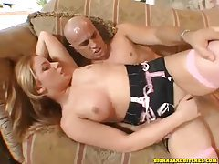 Hottie in lingerie makes his cock happy during a fuck tubes