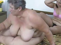 Fat granny and fat milf lesbian dildo sex tubes