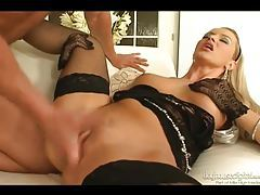 Hot fingering and fucking with fishnets girl tubes