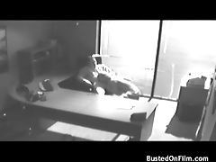 Security camera suck and fuck in the office tubes